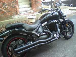yamaha star midnight warrior #7