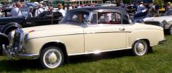 mercedes-benz 220s coupe